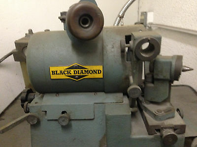 Black Diamond Drill Grinder W/ Collets and Table