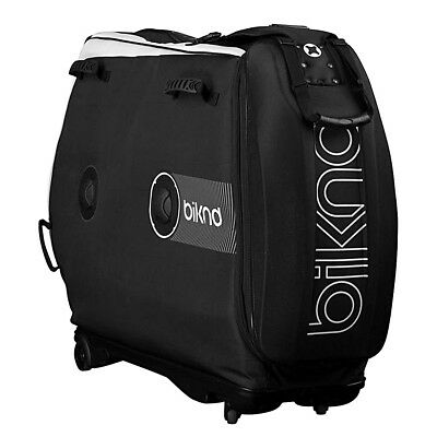 BIKND Helium V4 Air Cushioned Bike Travel Case Black
