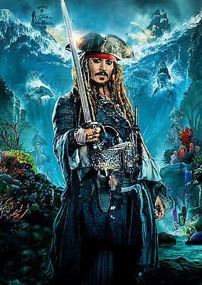 Pirates Of The Caribbean Salazars Revenge (2017) V6 - A1/A2 POSTER **SEE OFFER**