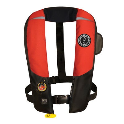 Mustang Hit Inflatable Pfd Automatic Red/Black [Md3183/02-Rd/Bk]