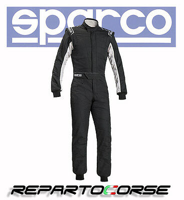 Tuta Racing Sparco Sprint Rs-2.1 Bicolore Nero-Bianco - Fia  8856-2000 - 001091