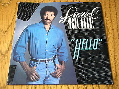 "Lionel Richie - Hello  7"" Vinyl Ps"