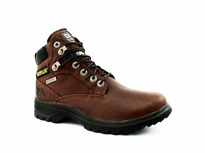 Caterpillar Kitson WPF Women's Mid Cut Brown Leather Boots