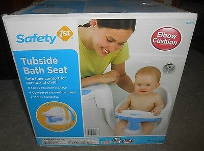 Safety 1st Tubside Bath Seat- #44537- Brand New in Sealed Box w/Gift Receipt