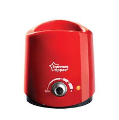 BRAND NEW IN BOX Tommee Tippee Electric Bottle Warmer Red