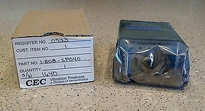 **NEW IN BOX** CEC 1-808 Vibration Transmitter CEC 1-808-SP040