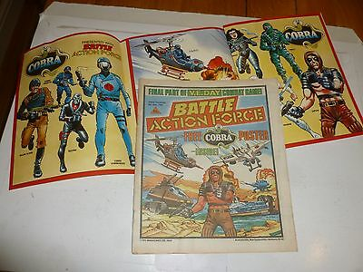 BATTLE ACTION FORCE Comic - Date 08/06/1985 - UK Paper Comic (Inc Free Gift)
