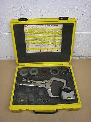 """Nfp Fp-200 """"pilot"""" Clamp Locking Hole Saw Guide W/case"""