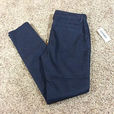 Old Navy jeggings Navy Blue girls size 12 Adjustable Waist New NWT