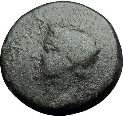 CALIGULA & ANTONIA Mark Antony & Octavia Daughter RARE Ancient Roman Coin i59703