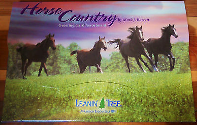20 Leanin Tree Greeted Cards HORSE COUNTRY,Mark Barrett ALL Occasions Assortment