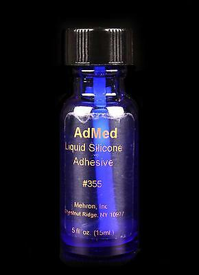 AdMed Glue Pro Medical theatrical appliance liquid adhesive wig clown fx Mehron