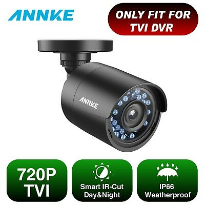 SANNCE 1x 720P HD-TVI Camera for Security System  IR-CUT Night Vision 3.6mm Lens