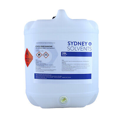 Cyclohexanone Industrial Solvent Oxidation Activator 20 Litre