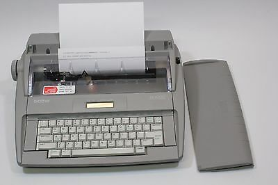 Brother SX-4000 Electronic Typewriter Daisy Wheel Very Nice