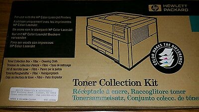 NOS, genuine HP C3120A toner collection kit for HP Color Laserjet Printers
