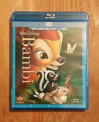 Bambi (1942) Very Good Diamond Edition Blu-ray + DVD Walt Disney Classic