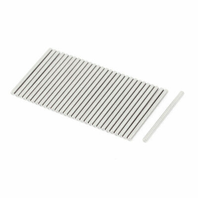 M2x30mm Stainless Steel Straight Retaining Dowel Pins Rod Fasten Elements 30 Pcs