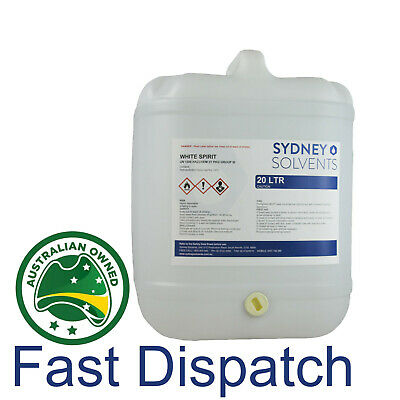 White Spirit Paint Cleaner Solvent Degreaser Paint Thinner 20 Litre