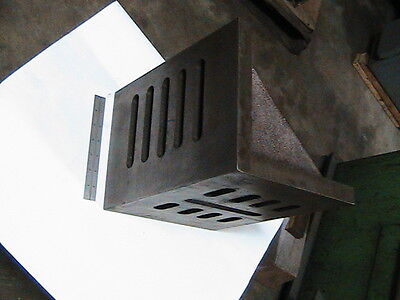 Slotted Webbed Angle Plate, 12 x 9 x 8