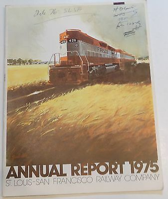 Frisco Railway 1975 Annual Report