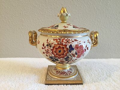 ANTIQUE Flight Barr & Barr Floral Sauce Tureen Porcelain circa 1805 and RARE