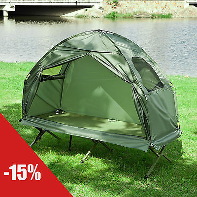 SoBuy® Outdoor Folding Camping Tent with Bed and Carrying Bag OGS31-GR, UK