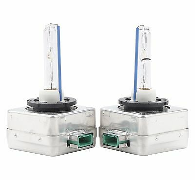 NEW 8000K D3S D3R D3C HID Xenon Bulbs Replace Factory HID Headlight Pair