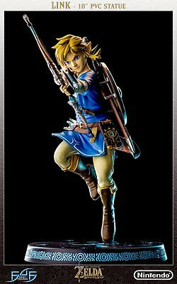 "First 4 Figures 10"" The Legend of Zelda: Breath Of The Wild Statue Link"