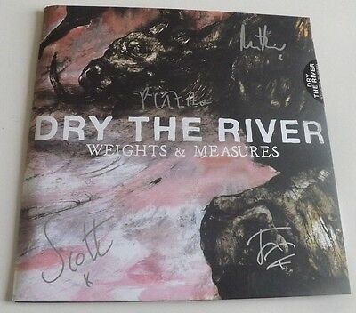 """Dry The River Weights & Measures Signed 10"""" Vinyl New"""
