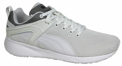 Details about Puma Aril Blaze Womens Lace Up Grey White Peach Trainers 360336 08 B12D