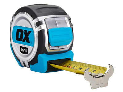 Ox Tools OX-P028905 5M Pro Heavy Duty Metric Tape Measure
