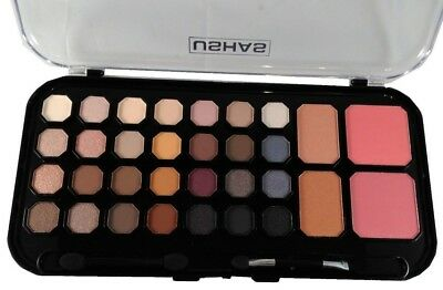 New Professional 32 Colour Combo Palette, Eyeshadow, Blush, Bronzer Make up Set