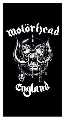 Official Motorhead - War Pig Logo - Soft Beach / Bath Towel