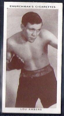 Churchman-Boxing Personalities-#01- Lou Ambers
