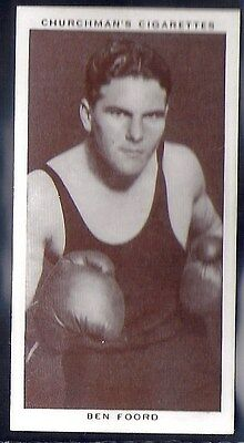 Churchman-Boxing Personalities-#16- Ben Foord