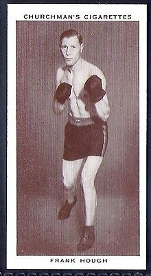 Churchman-Boxing Personalities-#19- Frank Hough