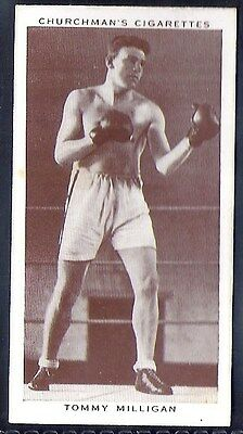 Churchman-Boxing Personalities-#29- Tommy Milligan