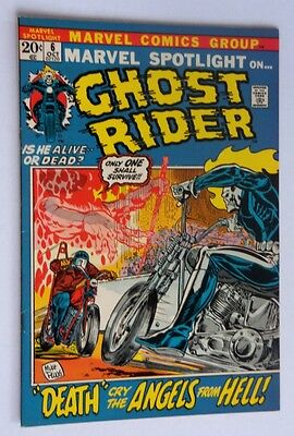 Marvel Spotlight #6 Second Ghost Rider Nm-Mint 1972 White Pages