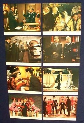 To Be Or Not To Be Original Lobby Card Set 1983 Mel Brooks