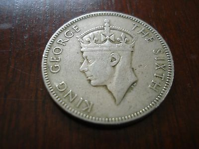 British Honduras 25 Cents 1952 Very Low Mintage!