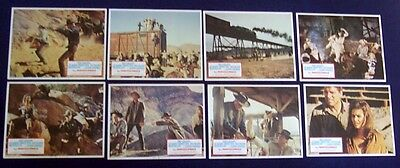 The Professionals 11X14 Lobby Card Set Of 8 1972 Lee Marvin Burt Lancaster