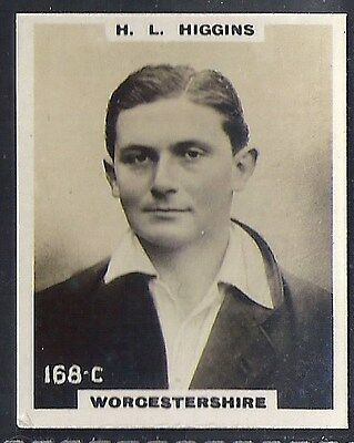Pinnace Cricket (Kf198)-#168- Worcestershire - Higgins