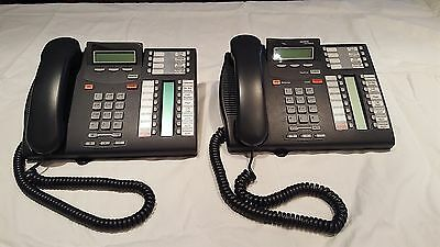 LOT 2  Nortel Networks T7316E Commercial Office Business Intercom Phone Charcoal
