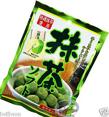 Japanese Green Tea Matcha Milk Candy Soft Caramel chewy Candies sweets snack Q12
