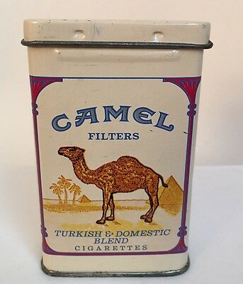 CAMEL Cigarettes Vintage Collectible Tin Box