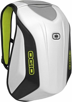 Ogio No Drag Mach 3 Molded Motorsports Track Riding Back Pack White 123007.09
