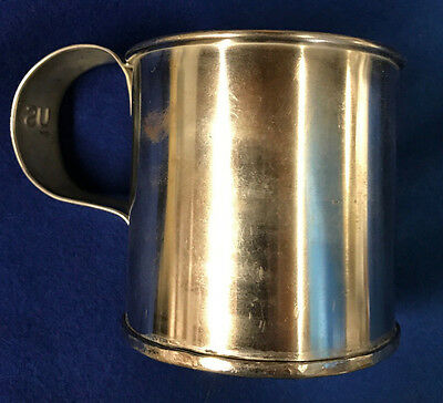 US Model 1874 Tinned Steel Cup - Indian Wars