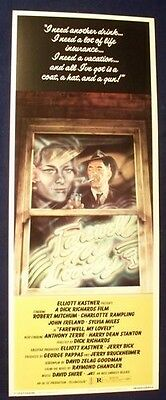 Farewell My Lovely 14X36 Rolled Movie Poster 1975 Insert