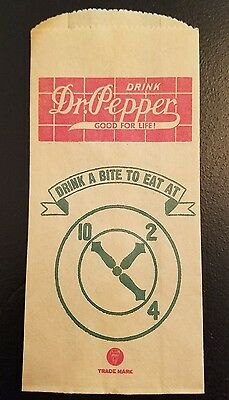 No Drip Bottle Protector  Dr. Pepper  Paper Sleeve ~ 1932